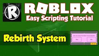 Roblox | How to make a Rebirth System | 2019 [FE]