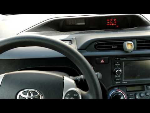 How to reset a maintenance light on a 2013 Toyota Prius c