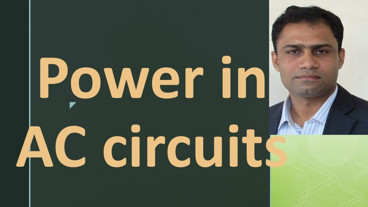 Power in AC circuits by systematic way to Physics