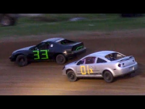 Mini Stock Heat Two | McKean County Family Raceway | 6-16-18