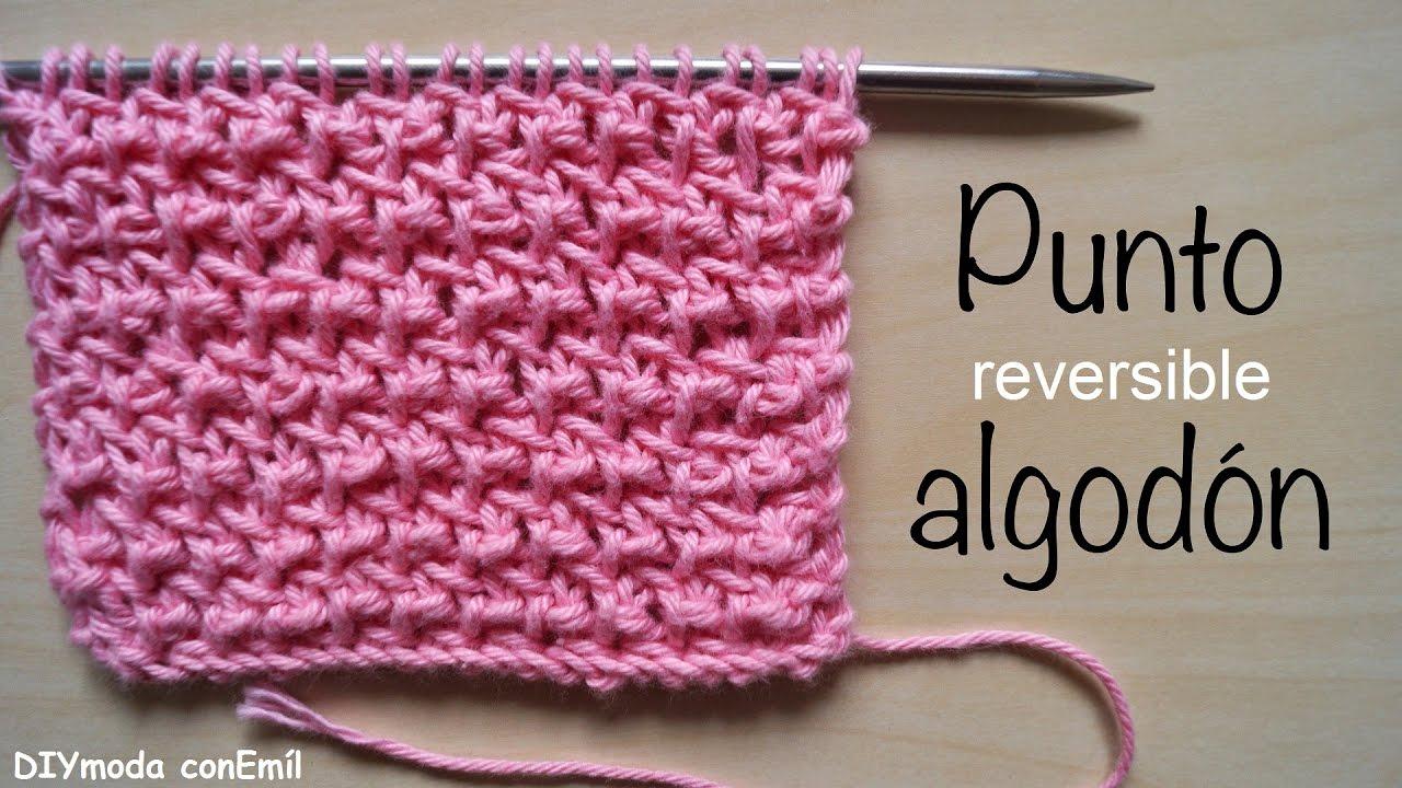 C mo tejer punto algod n reversible dos agujas paso a paso - Como empezar a hacer punto paso a paso ...