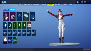 *Leak* Takara Skin doing UNRELEASED Emotes | Fortnite