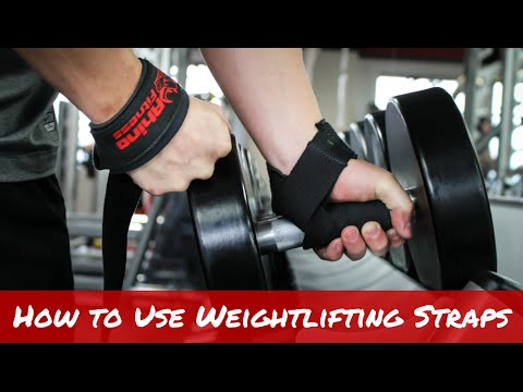Purpose of Lifting Straps--The Safest Way to Train:  How to Use Weightlifting Straps