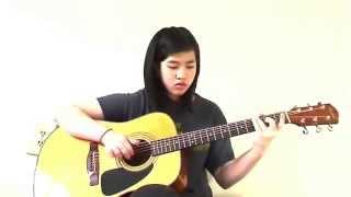 (Tiếu Ngạo Giang Hồ OST) Tiêu cầm khúc (Cover: Virginia Nguyen - Bé Mẫn) Guitar Solo