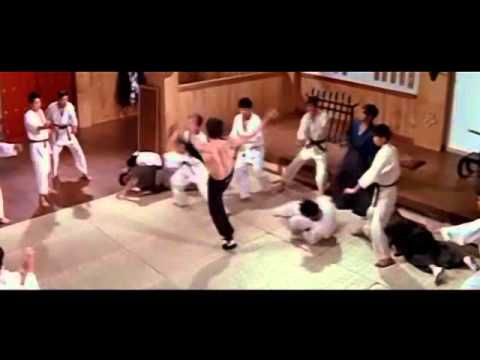 Bruce Lee Vs Japanese School Fighting Scene