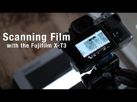 Scanning Film with the Fujifilm X-T3
