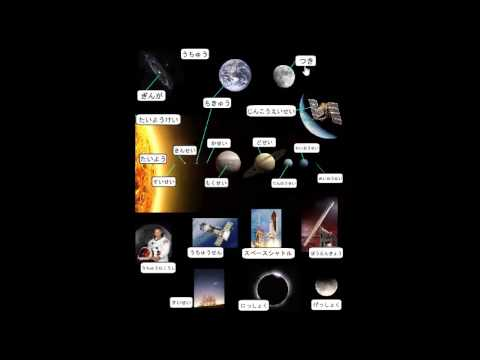 learn to read japanese - Astronomy