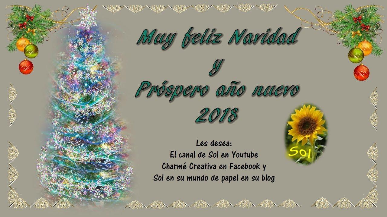 Feliz navidad querida familia