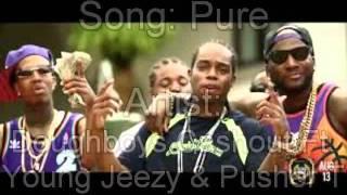 "Doughboyz Cashout Ft. Young Jeezy & Pusher T ""Pure White"""