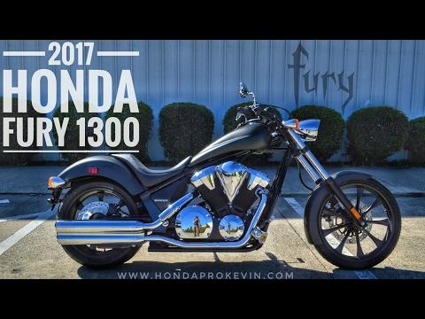 2017 Honda Fury 1300 Review of Specs / Walk-Around   Chopper / Cruiser Motorcycle - VT13CX