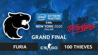 CS:GO - FURIA vs. 100 Thieves [Vertigo] Map 3 - IEM New York 2020 - Grand Final - NA