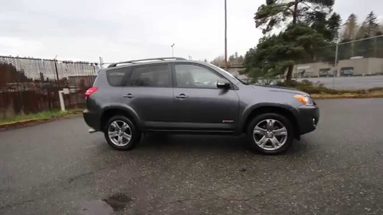 2011 toyota rav4 sport dark gray b5102755 redmond seattle youtube. Black Bedroom Furniture Sets. Home Design Ideas