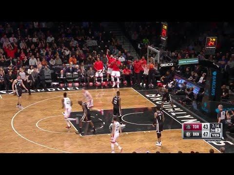 2nd Quarter, One Box Video: Brooklyn Nets vs. Toronto Raptors