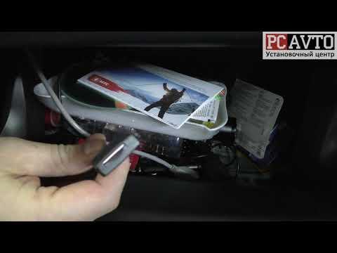 Toyota RAV4 - магнитола на Android в штатное место