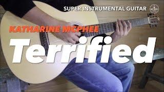 Katharine Mcphee Terrified instrumental guitar karaoke cover with lyrics