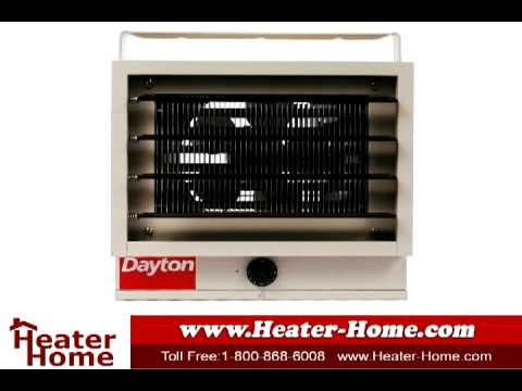 heating your garage with the dayton g73 electric shop heater - Electric Shop Heater