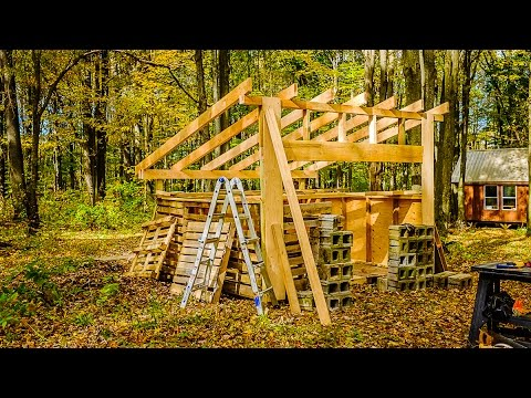 Building the sugar shack part 2 youtube for How to build a small shack