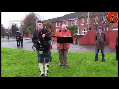 Row on Row East Belfast Remembers 8 /10/ 2017