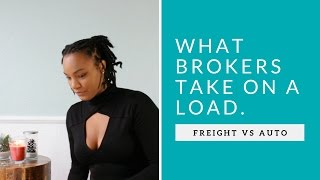 How much do freight brokers make per load