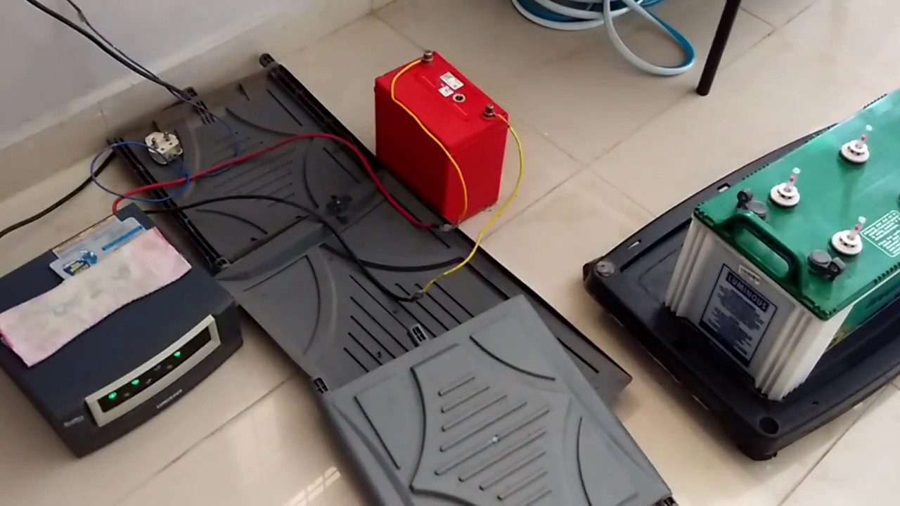 How To Charge Your Car Battery At Home Using Inverter