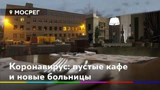 Коронавирус: пустые кафе и новые больницы // Новости 360° Солнечногорье 07.04