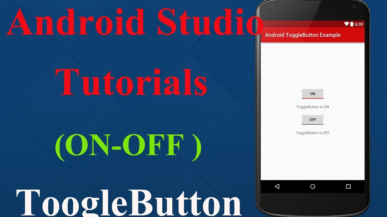 Android Studio Tutorial - Custom Toggle Switch Design & Integration with  Source code