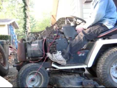 Craftsman Garden Tractor >> 1986 Craftsman III 20HP tractor Trash Find - YouTube