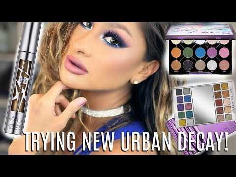Holiday Glam Party Makeup | Full Coverage -  NEW Urban Decay & Colour Pop Palettes