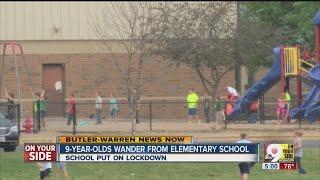 Girls wander off from Edgewood Elementary School