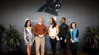 NFL Panther Stadium Tour With Mrs. International & Miss Teen International