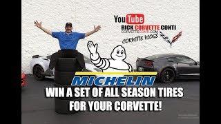 WIN A SET OF ALL SEASON MICHELIN TIRES FOR CORVETTE!