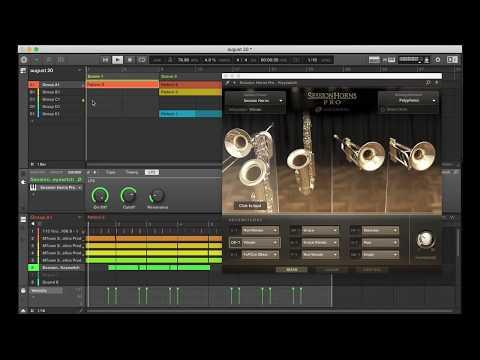 Instrumental called Rain created with Method 1 - Kontakt 6 Drum Machine By Sound Yeti