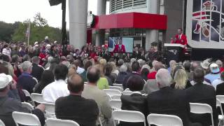Drew Bledsoe's Induction in the Patriots HOF