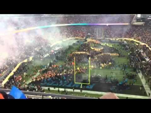 Pepsi Super Bowl Halftime Show Card Stunt, Fireworks #SB50