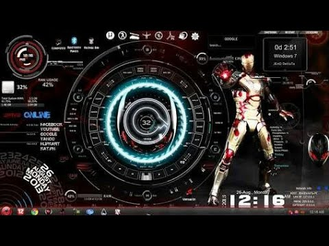 Download Free 3d Live Wallpaper For Windows Xp New Jarvis For Windows 10 8 1 8 7 Ironman Theme