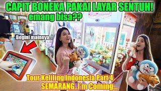 Jauh-jauh ke SEMARANG Cari Capit Boneka Pake Layar Sentuh!! Gokil..baru Happy Time Yang Punya!!