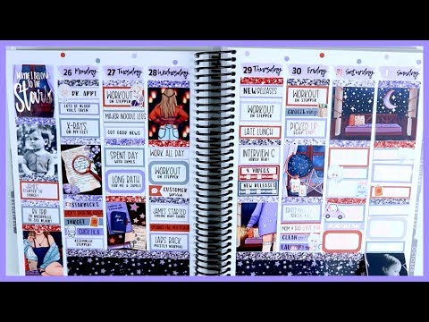 Memory Plan With Me! | Stargazer by Glam Planner