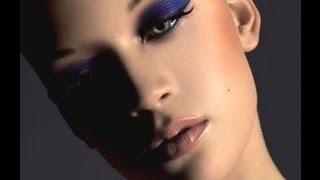 ❀♡Макияж смоки айс для карих глаз/Макияж в фиолетовых тонах❀♡