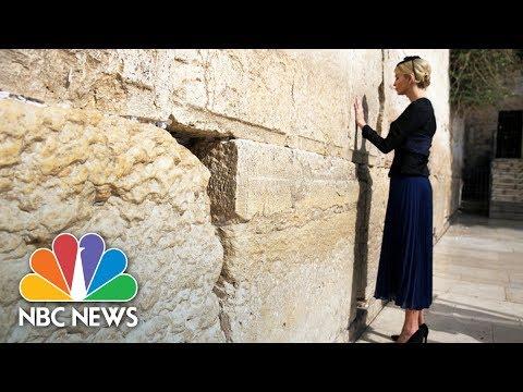 First Lady Melania, Ivanka Trump Visit The Western Wall | NBC News