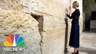 First Lady Melania, Ivanka Trump Visit The Western Wall | NBC News