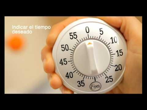 Timer reloj analogico para cocinar youtube for Cocinar en 5 minutos