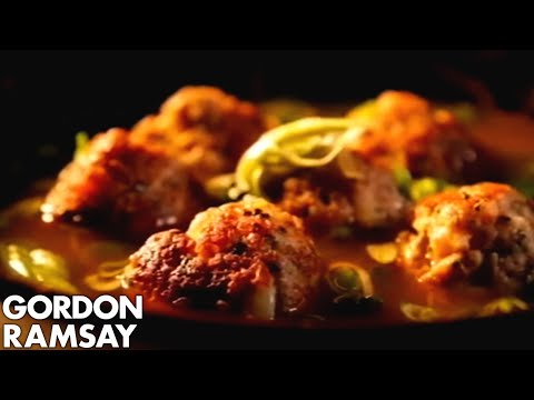 Pork and Prawn Balls in Aromatic Broth | Gordon Ramsay