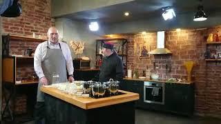 Николай Валуев готовит с Олегом Ольховым