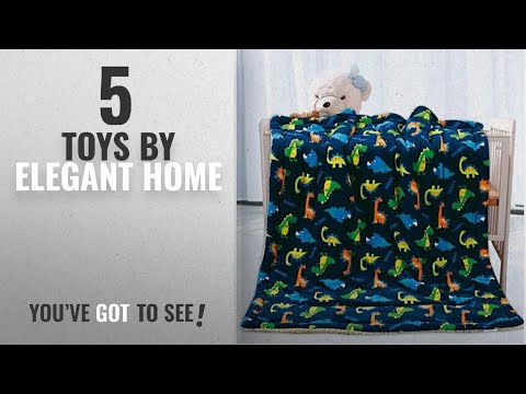 Top 10 Elegant Home Toys [2018]: Elegant Home Kids Soft & Warm Sherpa Baby Toddler Boy Sherpa