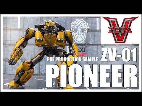 Zeta Toys V Series ZV-01 PIONEER Sample Transformers Masterpiece Bumblebee Movie BUMBLEBEE
