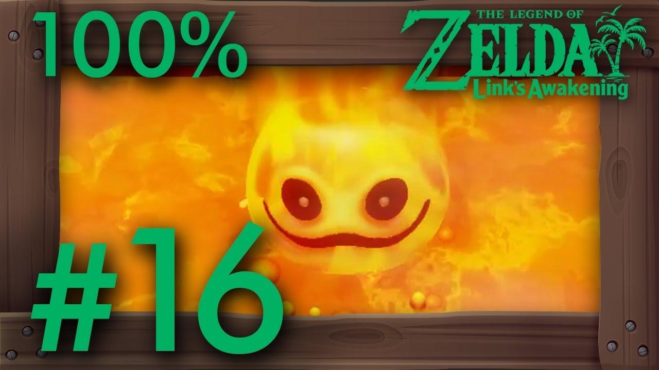 Zelda Link's Awakening (Switch): 100% Walkthrough Part 16 - Turtle Rock (Dungeon Level 8) thumbnail