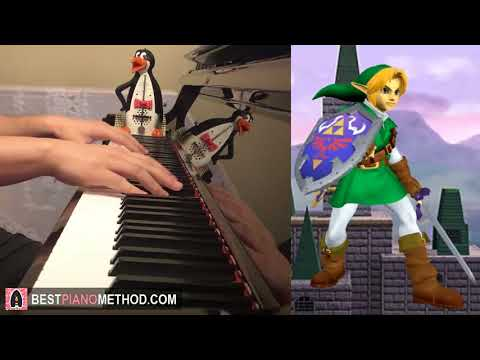 Zelda Main Theme (Piano Cover by Amosdoll)