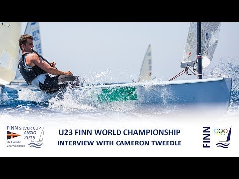 Finn Silver Cup 2019 - Interview with Cameron Tweedle