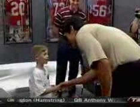 ESPN: My Wish - Tedy Bruschi and 6yr old Andrew