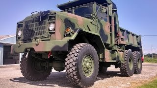 M929A1 6x6 DUMP TRUCK 5 Ton Military Vehicle AM General